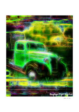 Vintage Car 42 Neons Edition