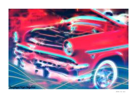 Vintage Car 43 Neons Edition