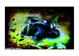 Vintage Car 46 Neons Edition
