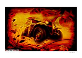 Vintage Car 47 Neons Edition