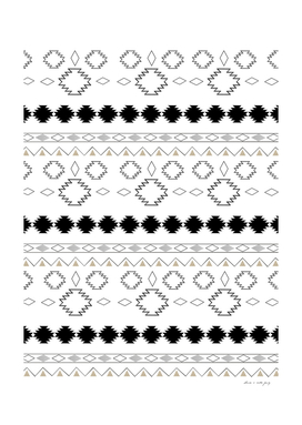 Tribal Boho Pattern Chic #1 #aztec #decor #art