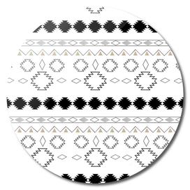Tribal Boho Pattern Chic #1 #aztec #decor #art