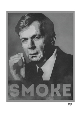 Smoke! Funny Obama Hope Parody (Smoking Man)