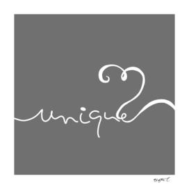 Minimalist Unique Typography Curvy Style