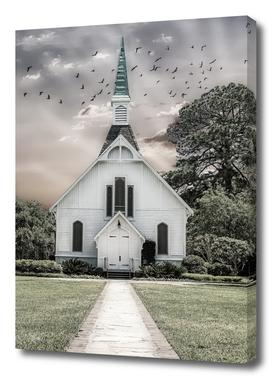 Chapel in Monochrome