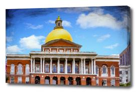 Oil Boston State House
