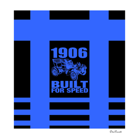 1906 BUILT FOR SPEED BLUE