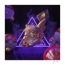 Cool Trooper Pikachu