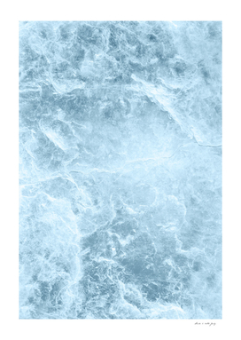 Enigmatic Light Blue Marble #1 #decor #art
