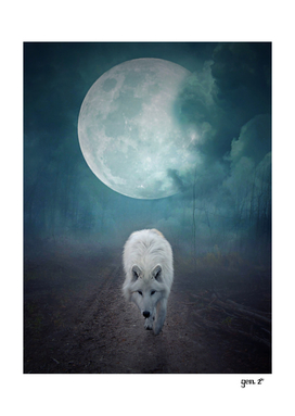 White Wolf Moon by GEN Z