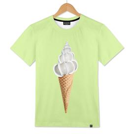 Ice cream shell