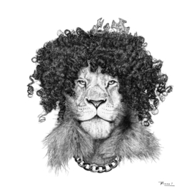 The Bling King Lion