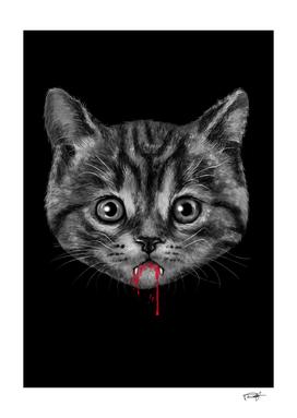 Black Pussy Cat - Color Sep