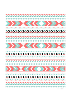 Summer Tribal Arrow Boho Pattern #1 #aztec #decor #art
