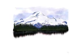 50 - Snow mountains