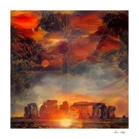 Surreal Stonehenge