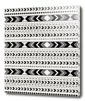 Tribal Arrow Boho Pattern #2 #aztec #decor #art