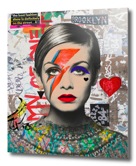Twiggy street art