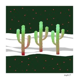 Holidays Cactus Landscape