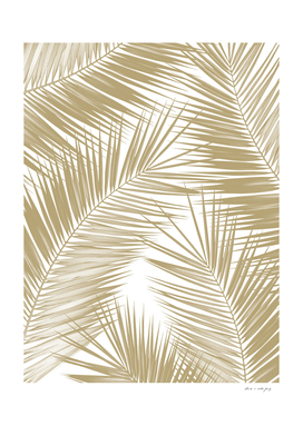Palm Leaves - Gold Cali Vibes #8 #tropical #decor #art