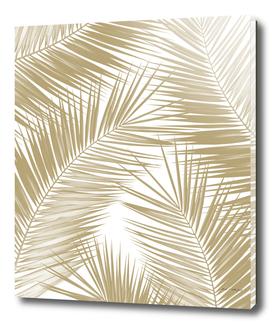 Palm Leaves - Gold Cali Vibes #8 #tropical #decor #art