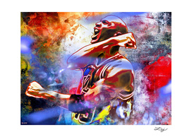 Michael Jordan Painted