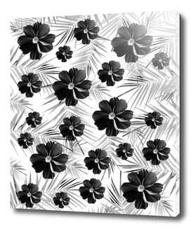 Winter Diamond Flowers #1 #floral #decor #art