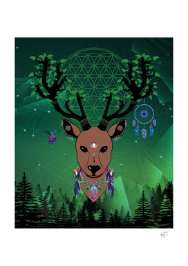 Elk totem fantasy spirit protection medicine strong animal