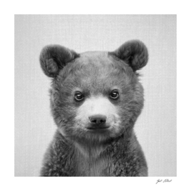 Baby Bear - Black & White