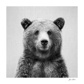 Grizzly Bear - Black & White