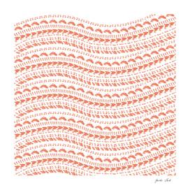 Small wavy seashell pattern