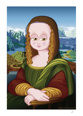 Gioconda (Mona Lisa) FNG version