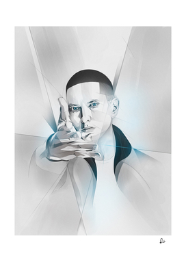 The Real Slim Shady - Eminem Portrait