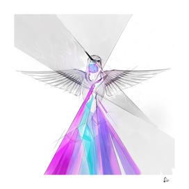 Crystal Feathers - Hummingbird