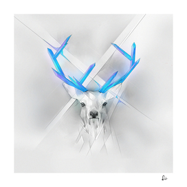 Crystal Horns - Blue Deer