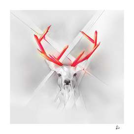 Crystal Horns - Red Deer