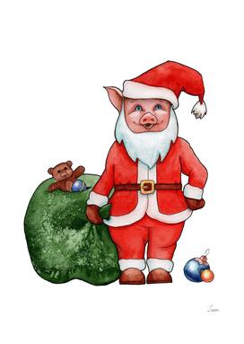 Pig - Santa Claus