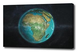 Globe Physical Africa