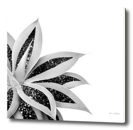 Agave Finesse Glitter Glam #5 #tropical #decor #art