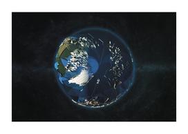 Globe LowPoly Arctic