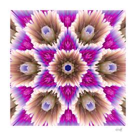 glitchy bouquet stars