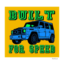 BUILT FOR SPEED-SUV