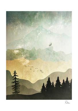 Mountain Stag