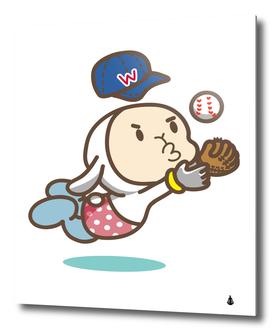 Music fruit baseball ball