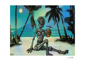 beach robot