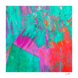 Colorful Emotions, Abstract Painting