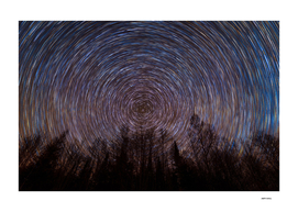 Star Trails, Mont-Laurier, QC