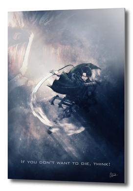 levi - attack of titan