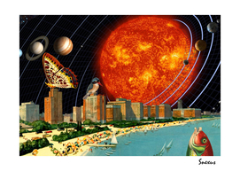 vacation on the other side of the solar system