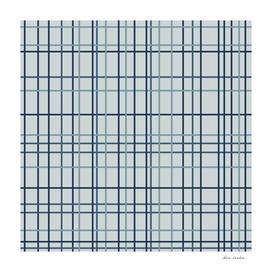 Grid in Blue Green shades